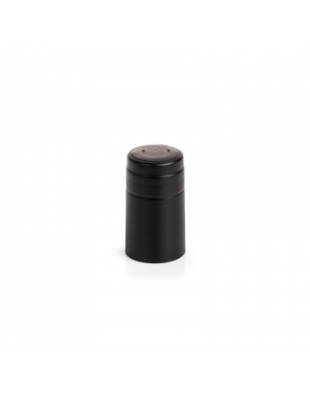 Retractable PVC Caps Black